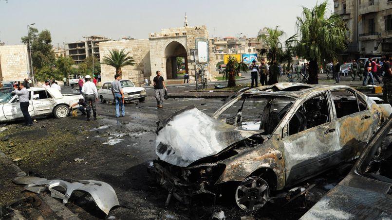 Le 21 octobre 2012, une bombe explose à quelques mètres de l'une des portes de la vieille ville de Damas. L'Unesco redoute que ce patrimoine ne devienne une zone de combats intenses, détruisant irrémédiablement des monuments d'une grande valeur historique.