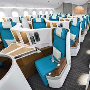 De nouvelles classes affaires dans les avions