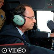 François Hollande atterrit au Bourget