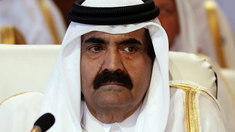 Hamad bin Khalifa al-Thani, émir du Qatar.