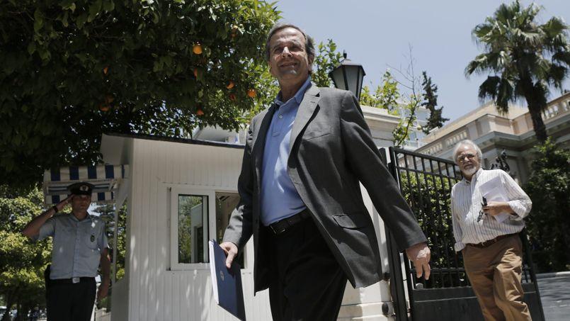 Grèce : Samaras remanie son gouvernement