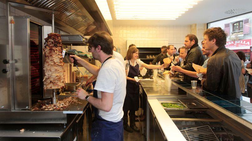 Grill le kebab de luxe parisien - Restaurant la grille paris 10 ...