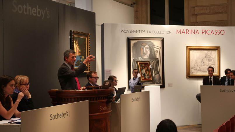 Marché de l'art: un recul global dans le monde