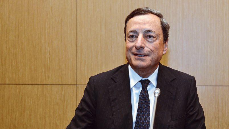 Draghi défend la BCE et l'euro au Palais Bourbon