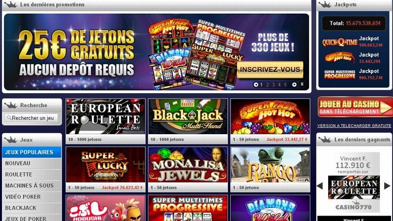 Les jeux de casinos virtuels, terreau de l'addiction