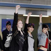 Retour en France des 3 Femen emprisonnées