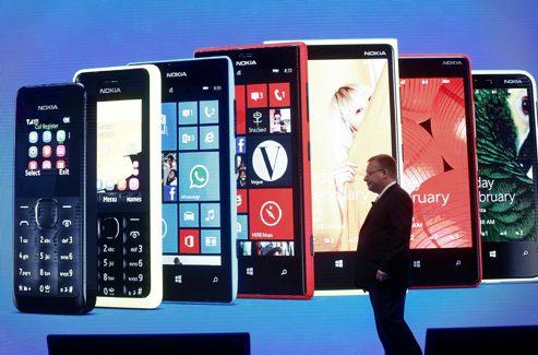 Stephen Elop, PDG de Nokia, le 25 février 2013.