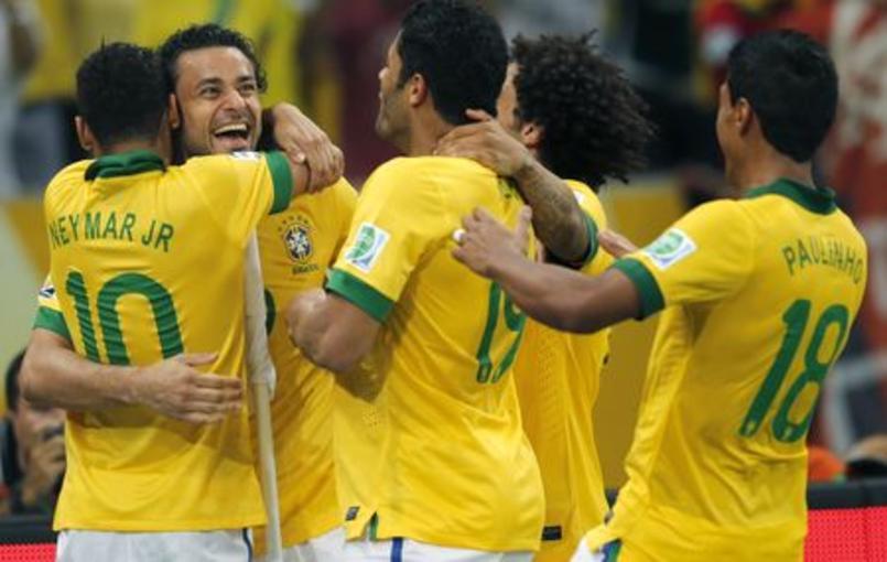 Le Brésil a fait danser l'Espagne