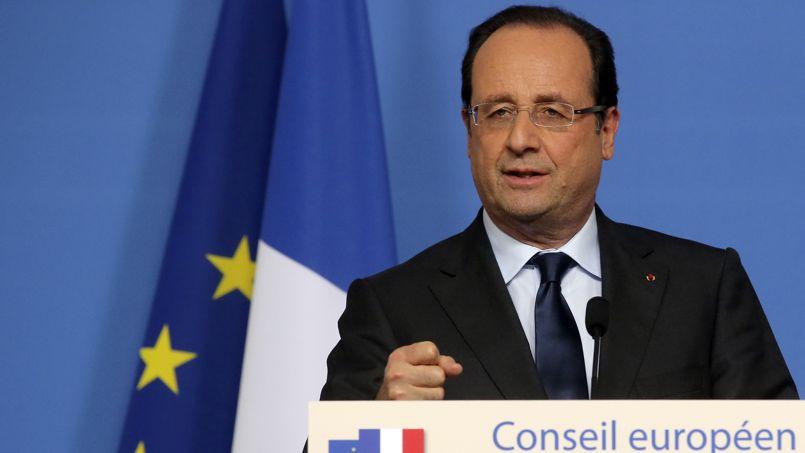 Le président de la république, François Hollande, au dernier sommet européen de Bruxelles