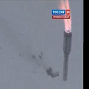 Une fusée russe explose au-dessus de Baïkonour