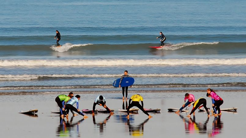 Ou surfer en normandie