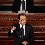 Hollande vante l'exemple de la Tunisie