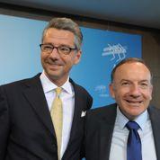 Pierre Gattaz et son homologue allemand, main dans la main, pour défendre les réformes