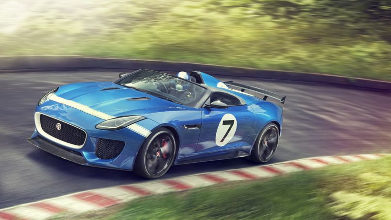 Jaguar Project 7 : l'esprit de la course