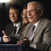 Warren Buffett généreux avec les Gates