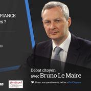 Débat citoyen avec Bruno Le Maire