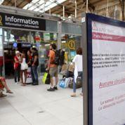 Brétigny: le trafic Paris-Toulouse reste perturbé