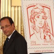 Le timbre Marianne inspiré d'une Femen