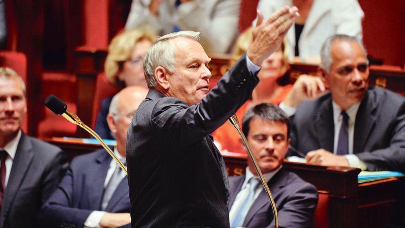 Jean-Marc Ayrault, mardi à l'Assemblée nationale.