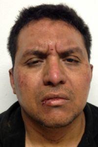 Miguel Angel Treviño après son arrestation. Crédit: AP/Ministre de l'intérieur mexicain