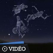 Cinq constellations mythologiques