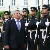 Un président allemand à Oradour-sur-Glane