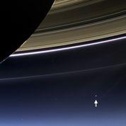 La Terre vue depuis Saturne et Mercure
