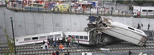 Espagne : déraillement mortel d'un train vers Saint-Jacques-de-Compostelle