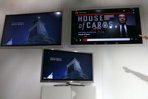 Le Chromecast diffuse les vidéos depuis un smartphone, une tablette ou un ordinateur.