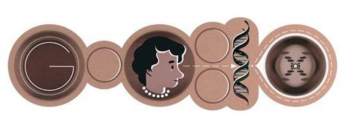Rosalind Franklin honorée par Google