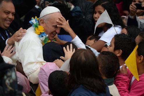 La visite symbolique du Pape dans une favela «pacifiée» de Rio