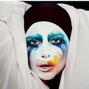 Lady Gaga en Pierrot pour Applause