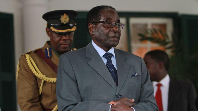Robert Mugabe, au pouvoir depuis 1980, est à nouveau candidat à l'élection présidentielle.