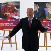 Steinbrück tente de remobiliser la gauche