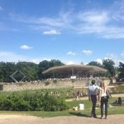 Classique au vert: le Parc Floral en liberté