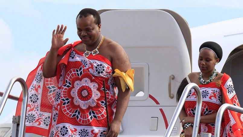 Mswati III est roi depuis 1986.