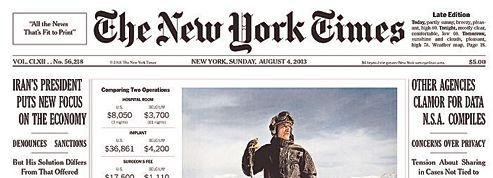 Le New York Times atrouvé la formule payante