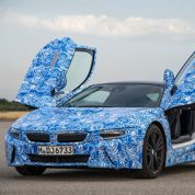 Le coupé BMW i8 fait des étincelles