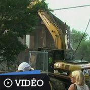 Cleveland : la maison d'Ariel Castro démolie
