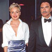 Sharon Stone porte une chemise Gap