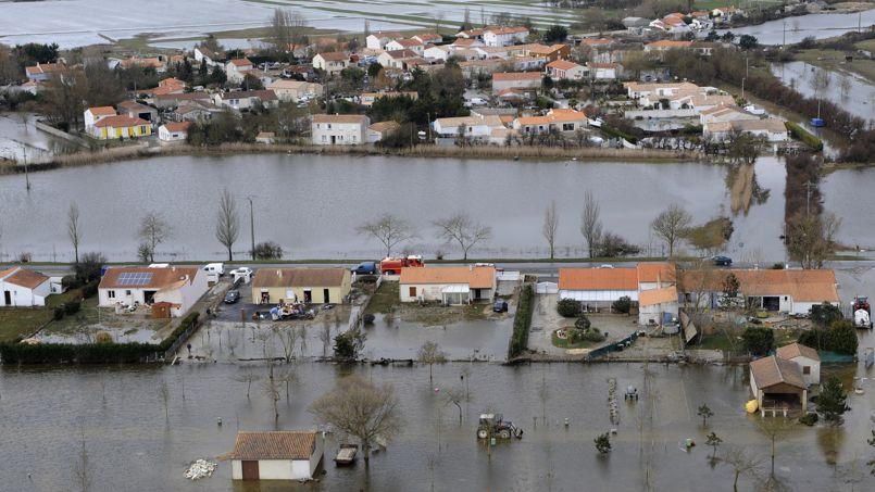 Au lendemain de la tempête Xynthia, il est apparu que certaines communes n'avaient pas de Plan de prévention du risque.