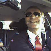 Le leader norvégien fait le chauffeur de taxi
