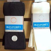 BleuForêt, la chaussette vendue jusqu'en Chine