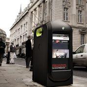 Londres : les poubelles traquent les passants