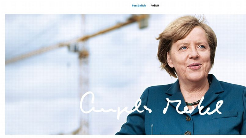 Le roman-photo d'Angela Merkel