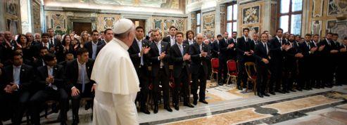 Le pape François, supporteur spirituel
