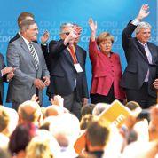 Merkel s'inquiète pour sa coalition