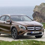 Un Mercedes GLA à la mode SUV