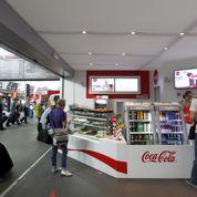 Coca-Cola ouvre un café à la gare Montparnasse