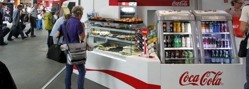 Coca-Cola ouvre un café à la gare de Paris-Montparnasse
